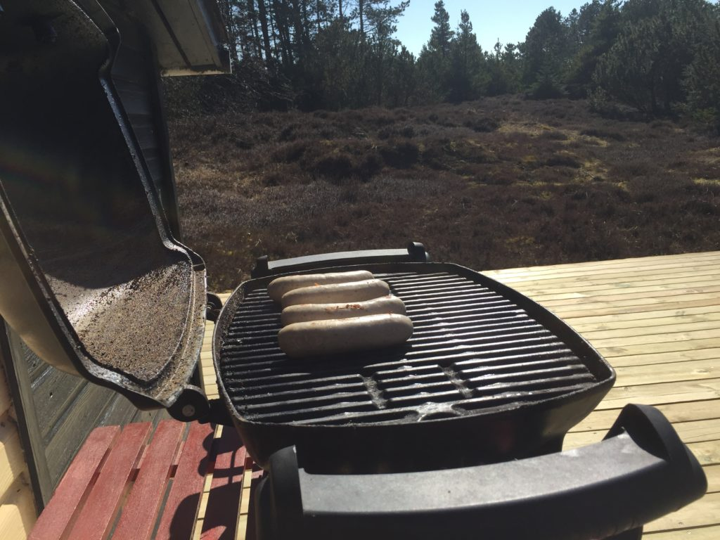 Webergrill med gas